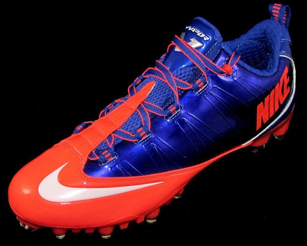 e3451a436a29a Nike Zoom Vapor Carbon Fly 2 TD Football Cleats Sizes 10.5   12  Blue Crimson  Nike  LowFootballLacrosseCleats