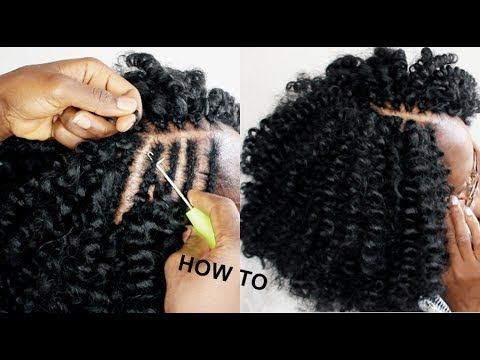 Very Easy Crochet Braids Under 1 Hour How To Video Black Hair Information Curly Crochet Hair Styles Crochet Braids Marley Hair Cool Braid Hairstyles