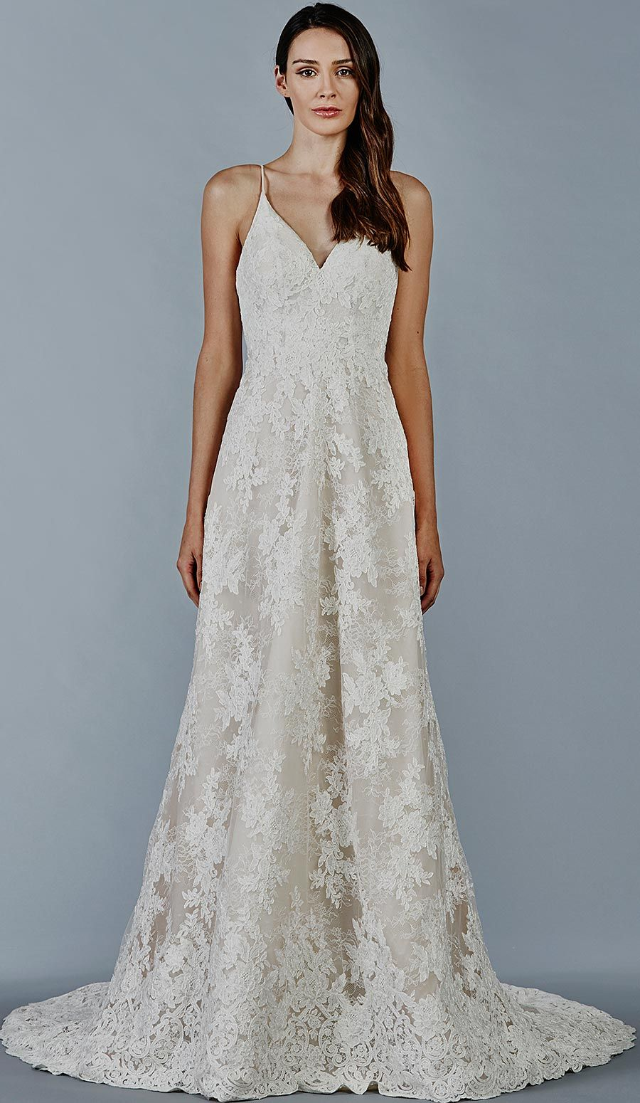 Look at that gorgeous lace detail! Maia wedding dress by Kelly ...