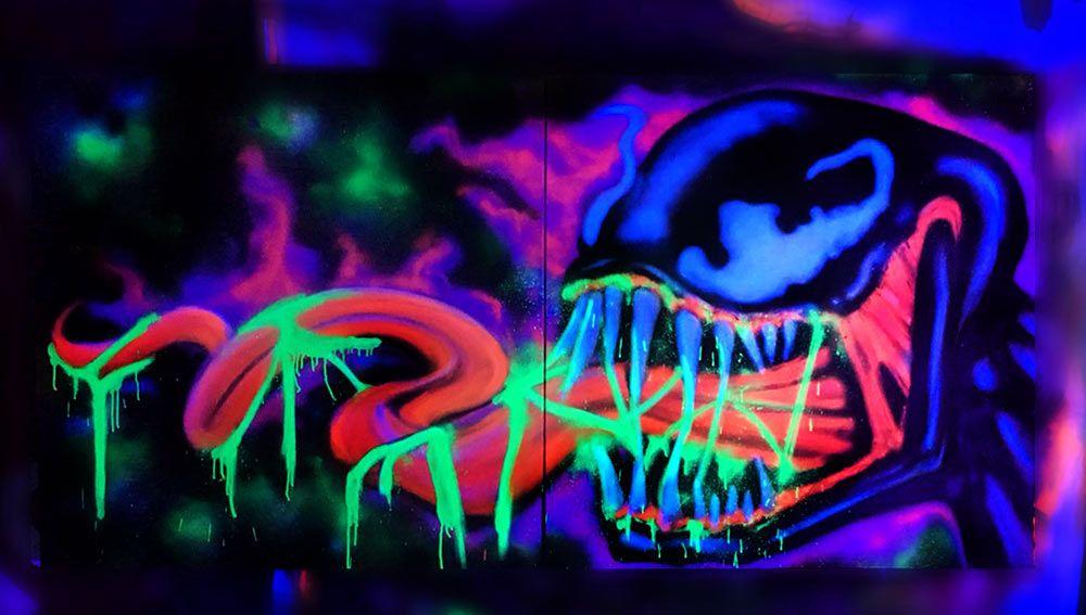 DRUG POSTER Venom Blacklight