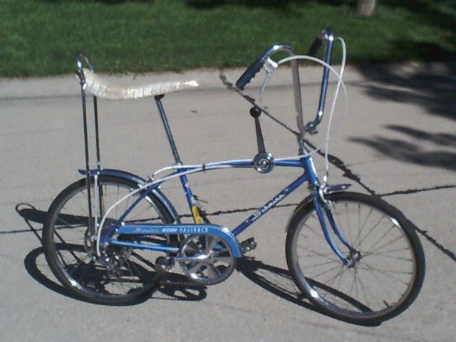 dd727c00cac Schwinn Stingray bicycle like the one that I was given for my 9th birthday, the  one I always remember as my best ever.