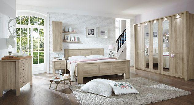 Modernes Schlafzimmer im gemütlichen Landhausstil Tolles - komplette schlafzimmer modern