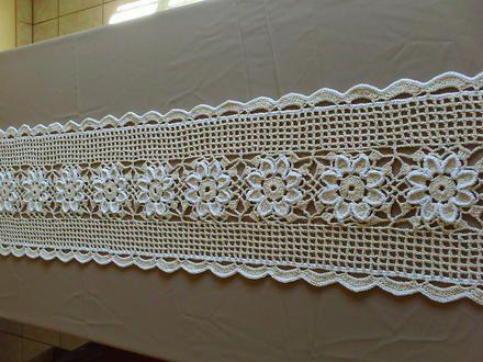 Caminho De Mesa De Croche 6 Com Imagens Caminho De Mesa De