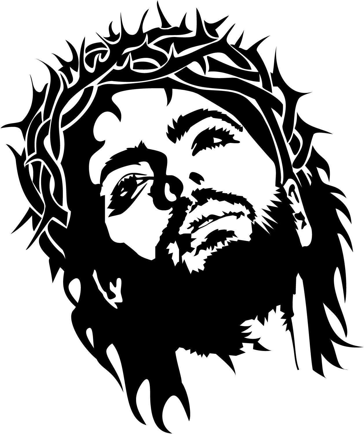 Car sticker design png - Jesus Wall Decal Bring A Little Spirituality To Any Room With Our Jesus Wall Decal Use It Alone Or In Combination Of Our Other Designs