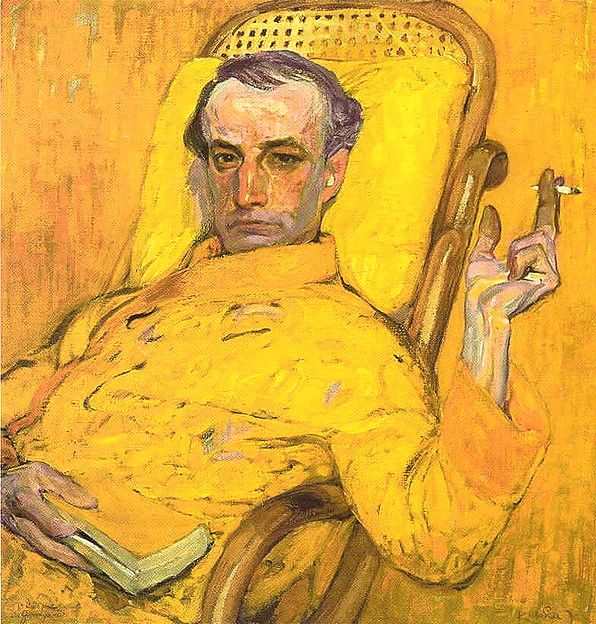 Frantisek Kupka, self-portrait