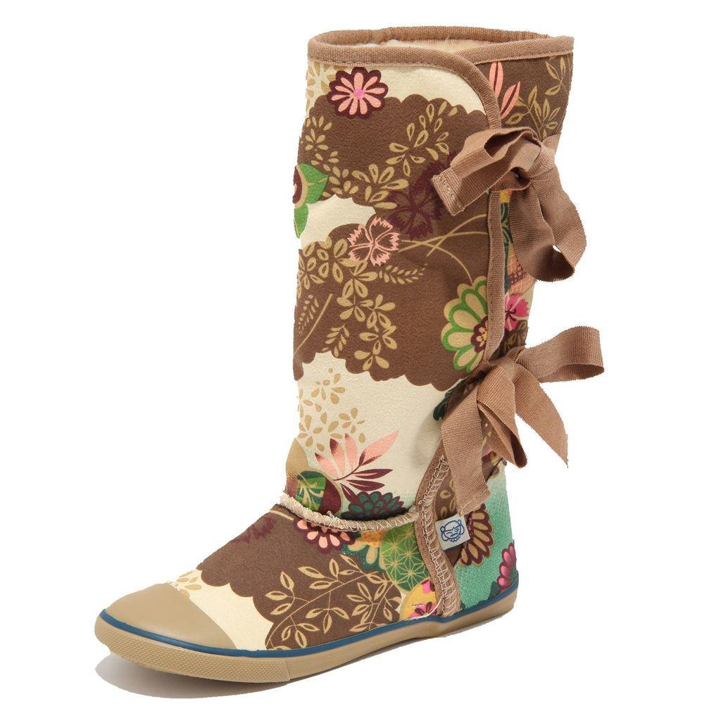 dfcd792cf2749 Stivali donna marroni sugar morigami asian floral scarpe boots jpg  1000x1000 Sugar morigami