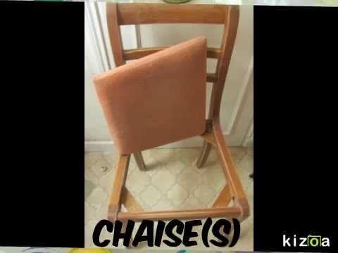 Tutoriel Comment Relooker Une Chaise Ancienne Ou Moderne Peinture Tissus