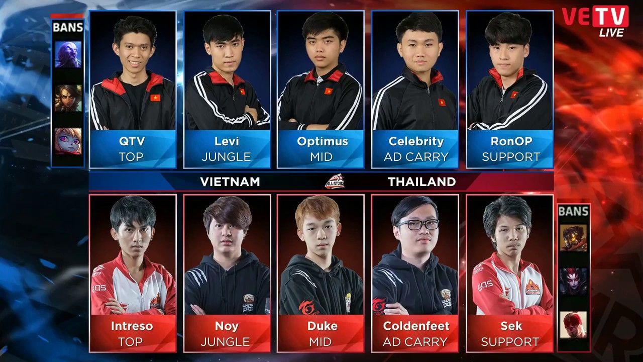 Việt Nam vs Thailand game 2 - Chung Kết Garena All-Star 2016 - Chỉ cách .