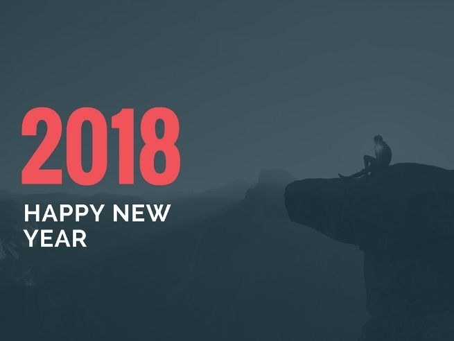 happy new year 2018 desktop wallpaper for new year celebration