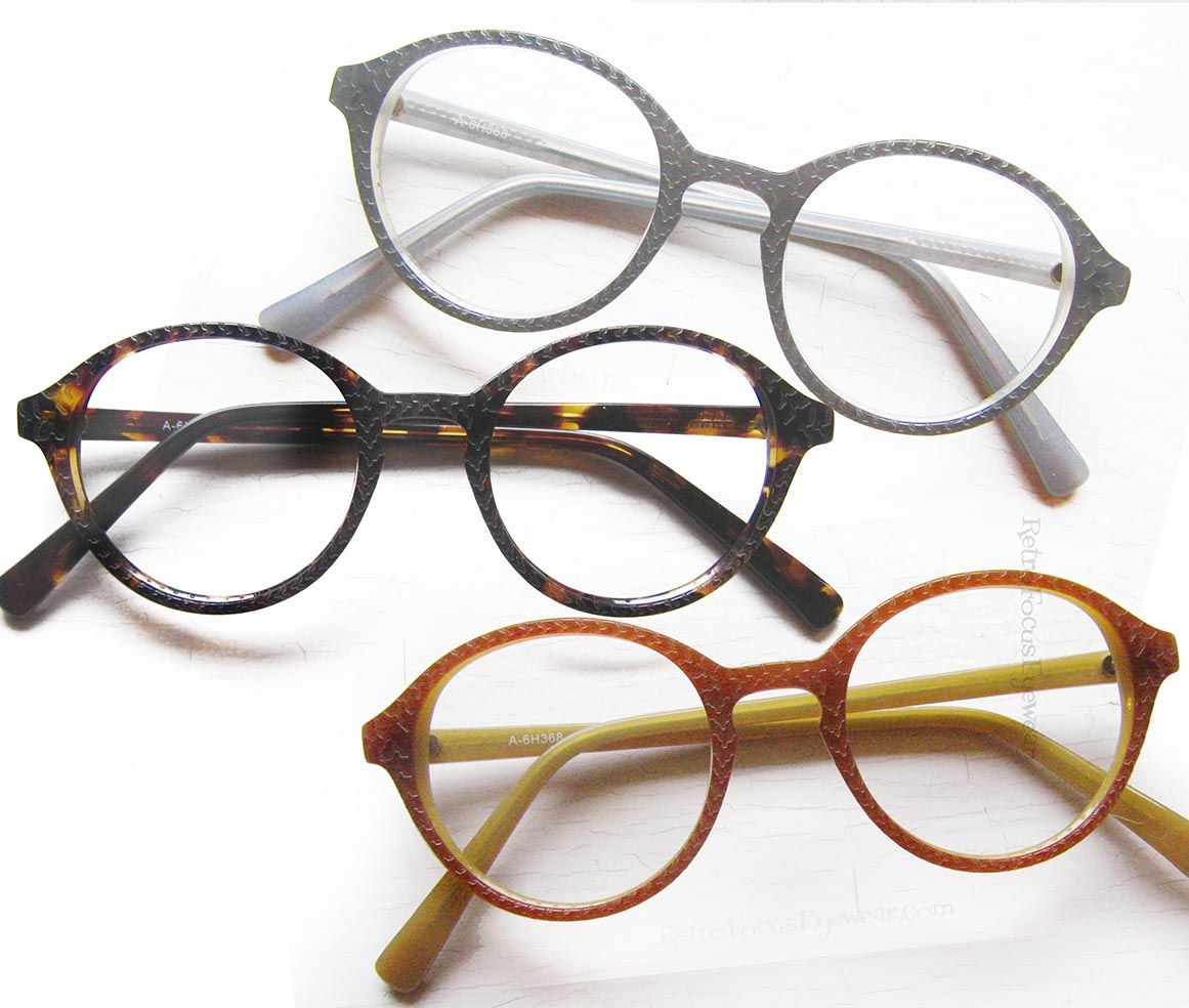 Eyeglasses frames in style - 80 S Style Carved Panto Round Reading Glasses Eyeglass Frames