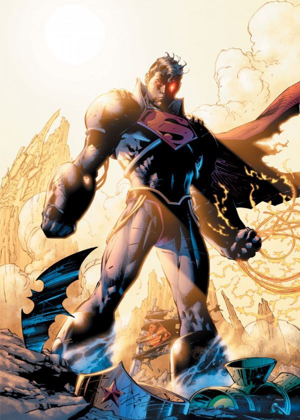 """Official DC Comics Jim Lee Collection The Champion #Displate artwork by artist """"DC Comics"""".… 