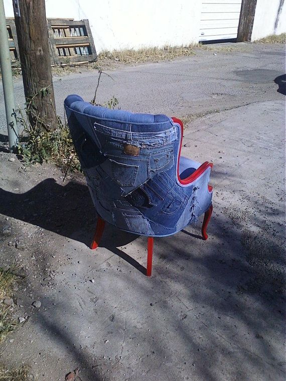 Blue Jean Furniture ... Lol, Whou0027d A Thunk?! Luv