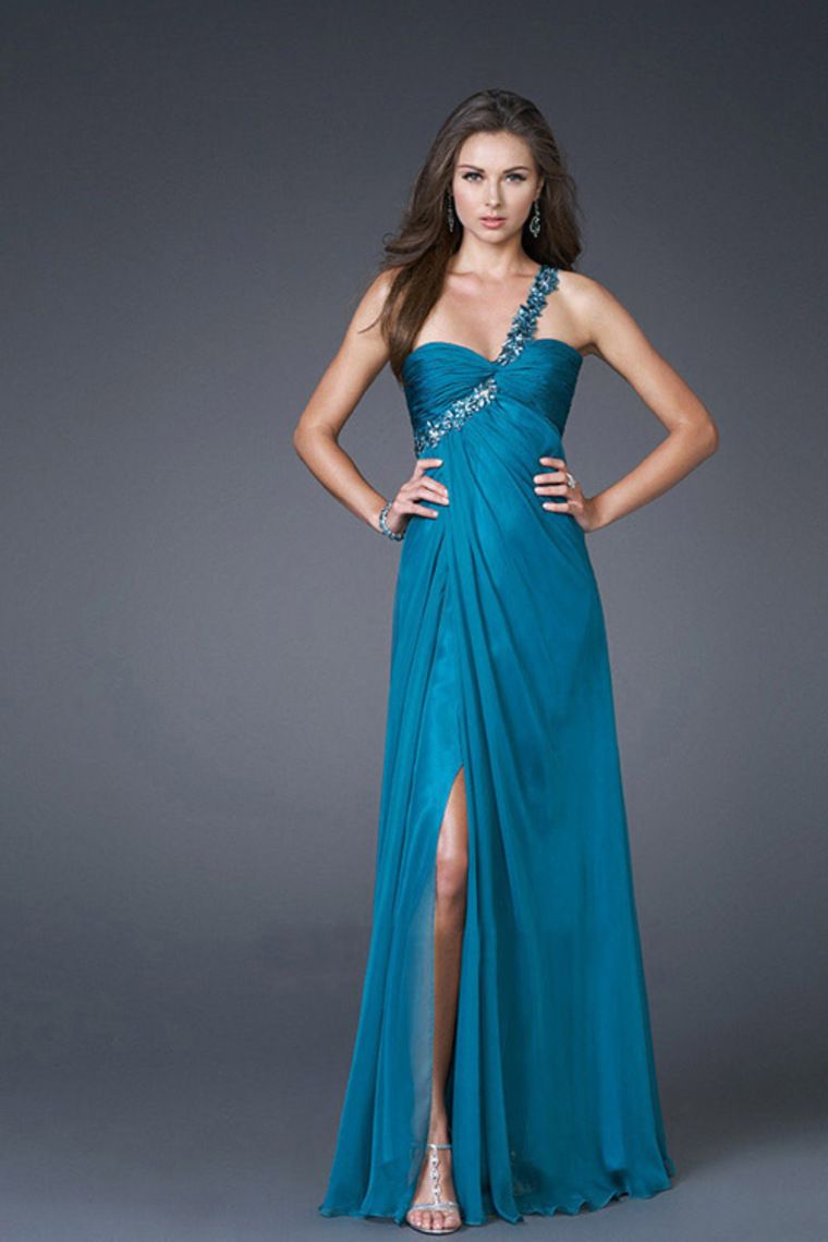 collection prom dresses chiffon sheathcolumn beadingsequins
