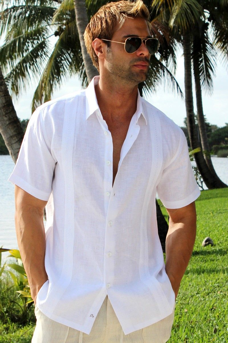 Beach Wedding Men S Linen Shirt
