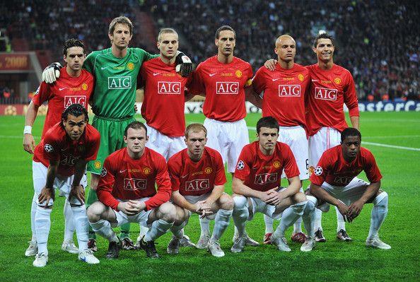 Champions League 2008 Final Moments Futbol