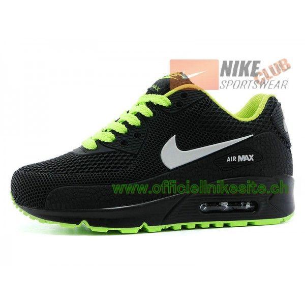 nouveaux styles b7ab5 6b2cf Nike Air Max 90 Ps Chaussures Nike Pas Cher Pour Enfant Noir ...