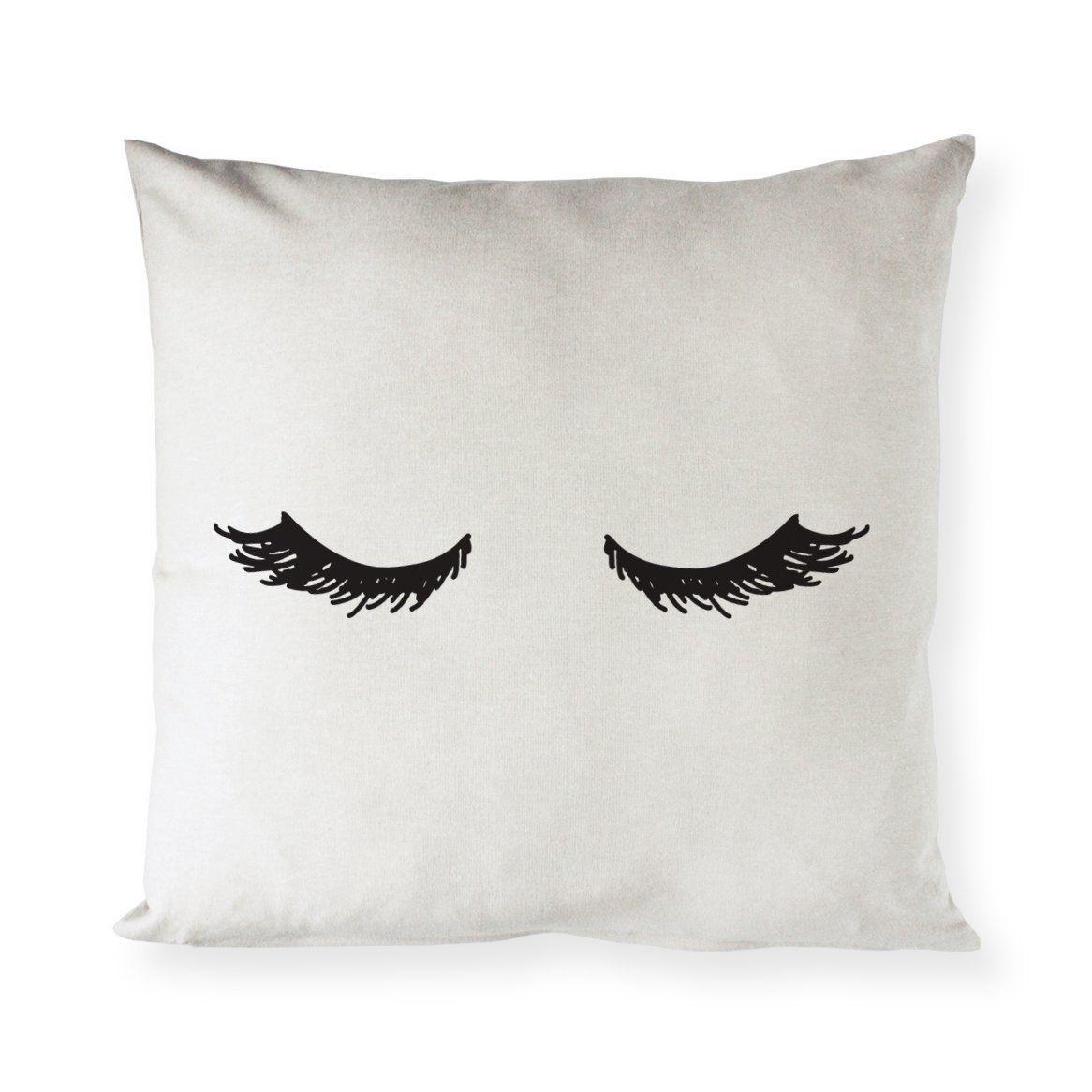 Sleeping Eyelashes Pillows Cute Pillows