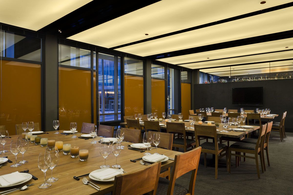 private dining space at our Bellevue location Private