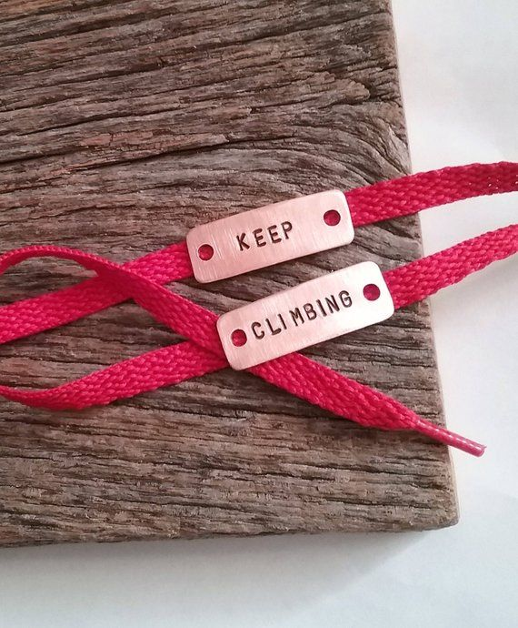 Keep Climbing Shoe Tags Unisex Gifts Under 20 Gift For Climber Sneaker Clips Boyfriend