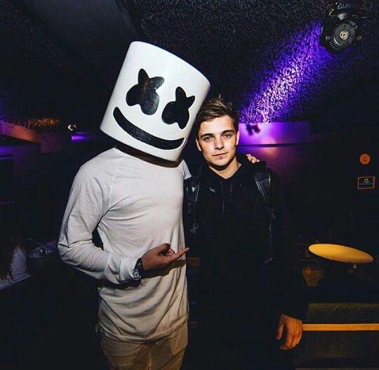 Marshmello with Martin Garrix
