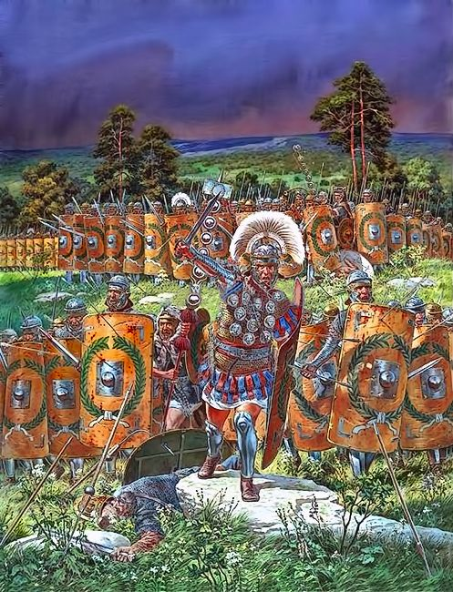 """Dacian War, 101-102 AD"", Igor Dzis"