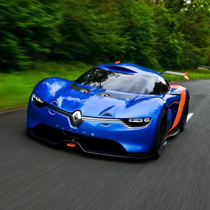 Renault reinterprets the Alpine A110