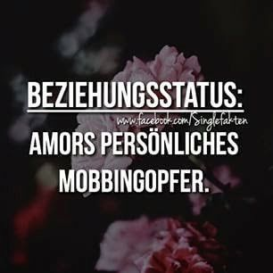 Beziehungsstatus: Amors persönliches Mobbingopfer