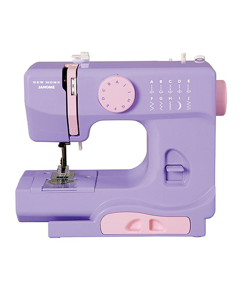 Love this Lady Lilac Sewing Machine by Janome on #zulily! #zulilyfinds