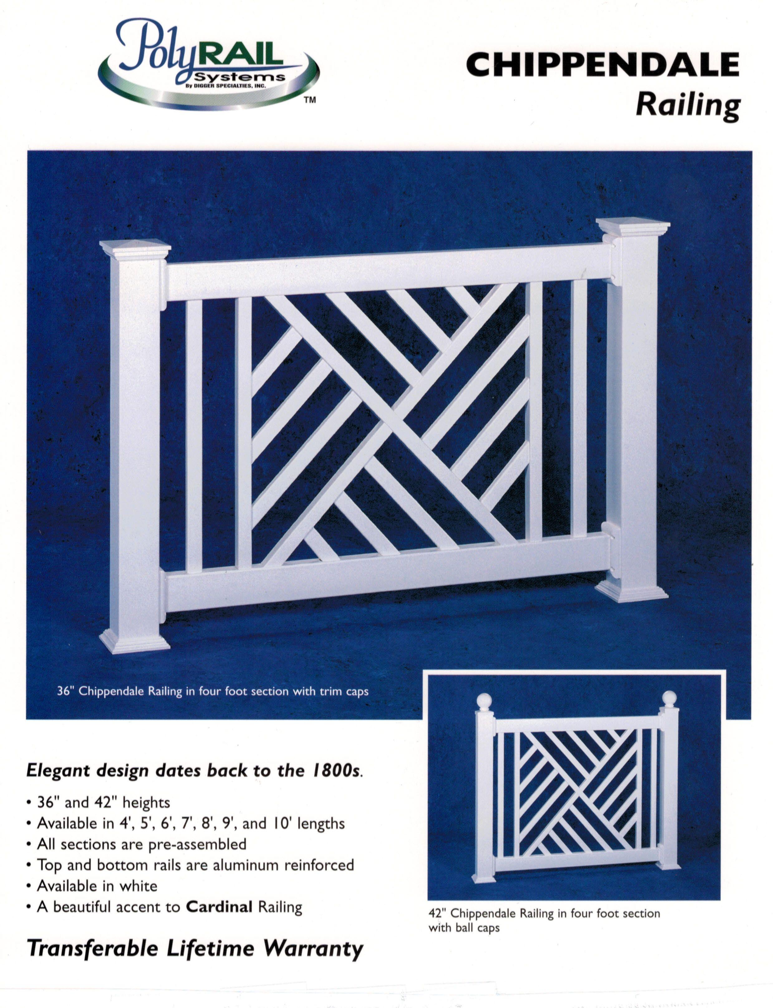 Best Chippendale Railing Garden Pinterest Porch Decking 640 x 480