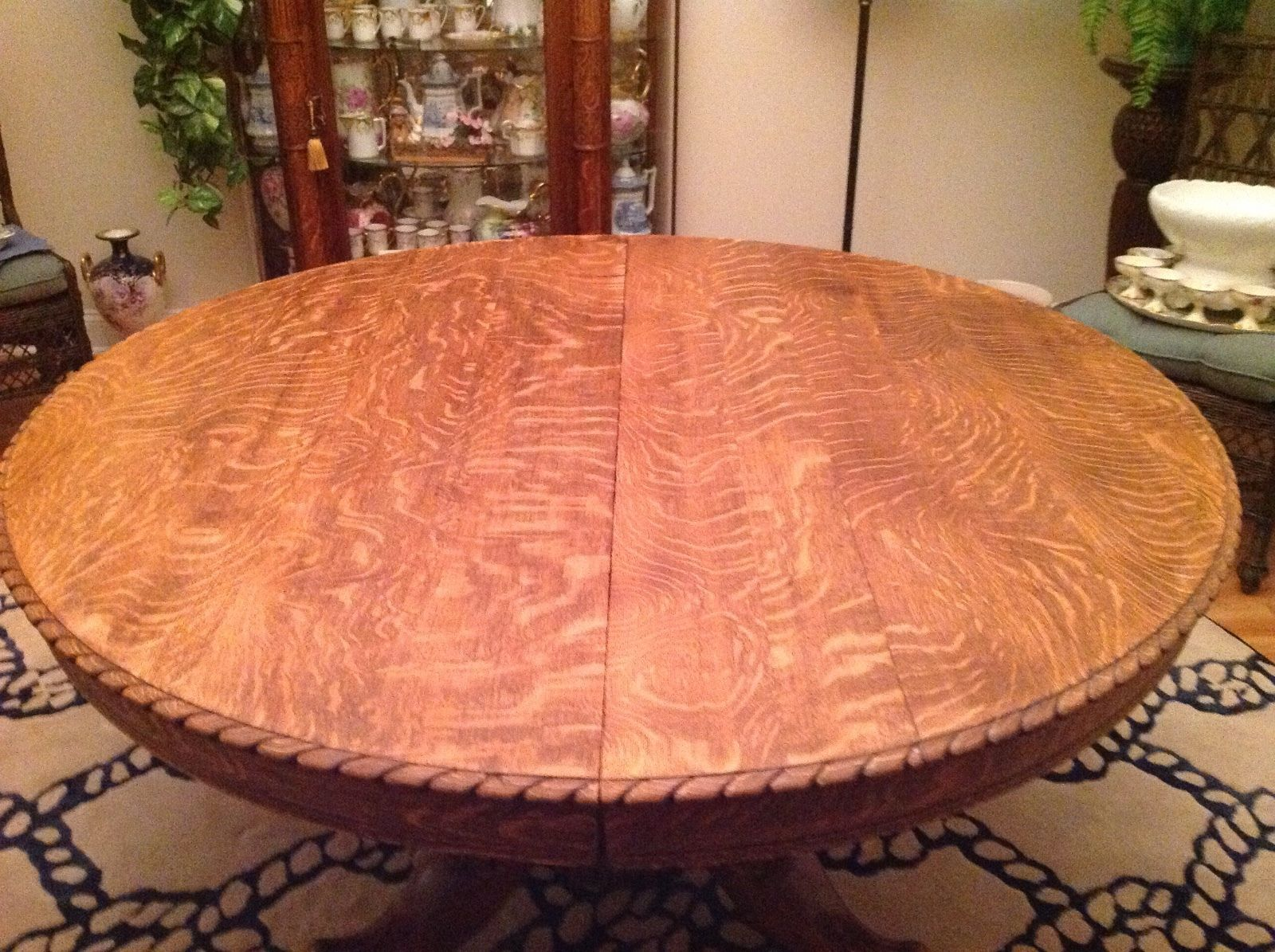 Horner Oak Claw Foot Griffin Split Pedestal Table In 2019