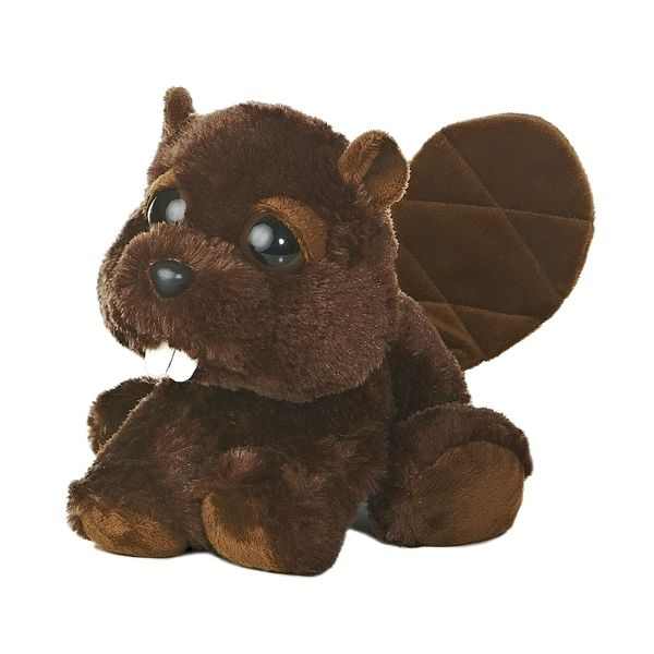 Bucky The Dreamy Eyes Beaver Stuffed Animal By Aurora At