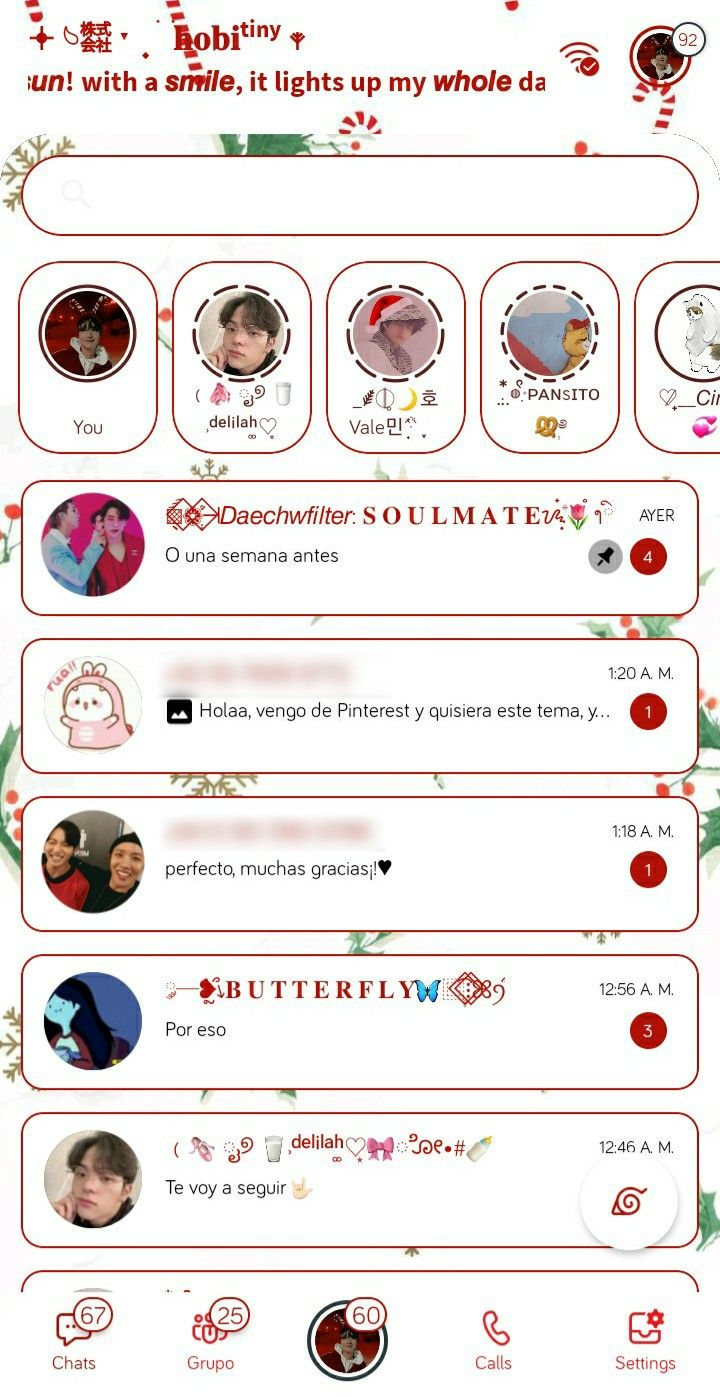 Whatsapp Delta Thema Aesthetic Navidad Red In 2021 Aesthetic Colors Theme Cute Stickers