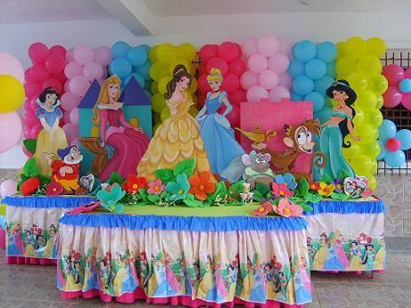 Fiesta de las princesas de disney buscar con google - Fiestas de cumpleanos de princesas ...