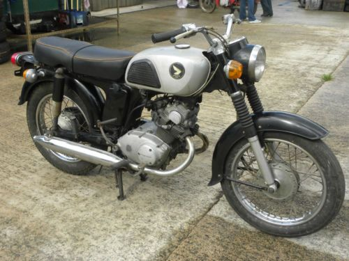 Honda Cd125 1968 125cc For Restoration Honda Vintage Bikes Honda Motors