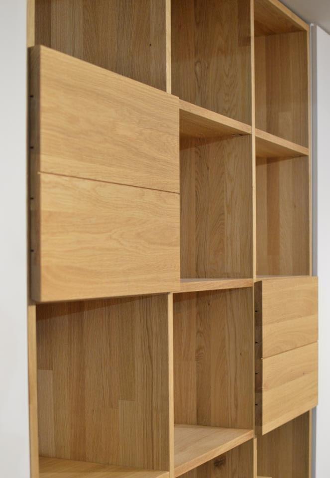 Furniture Designs JAVORINA :: Masvna dubov kninica | Solid oak bookcase  shop.javorina.