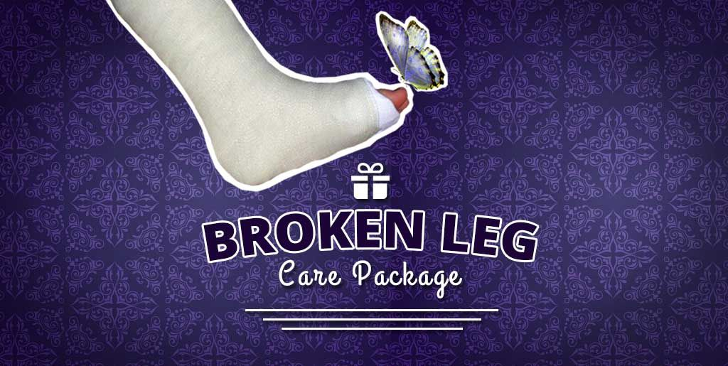Someone Broken Care Package For Foot With
