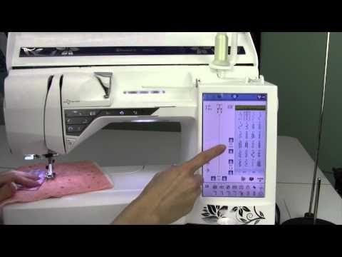 ▷ Husqvarna Viking Designer Diamond 40 Hand Look Quilt Stitch Enchanting Hand Stitch Look Sewing Machine