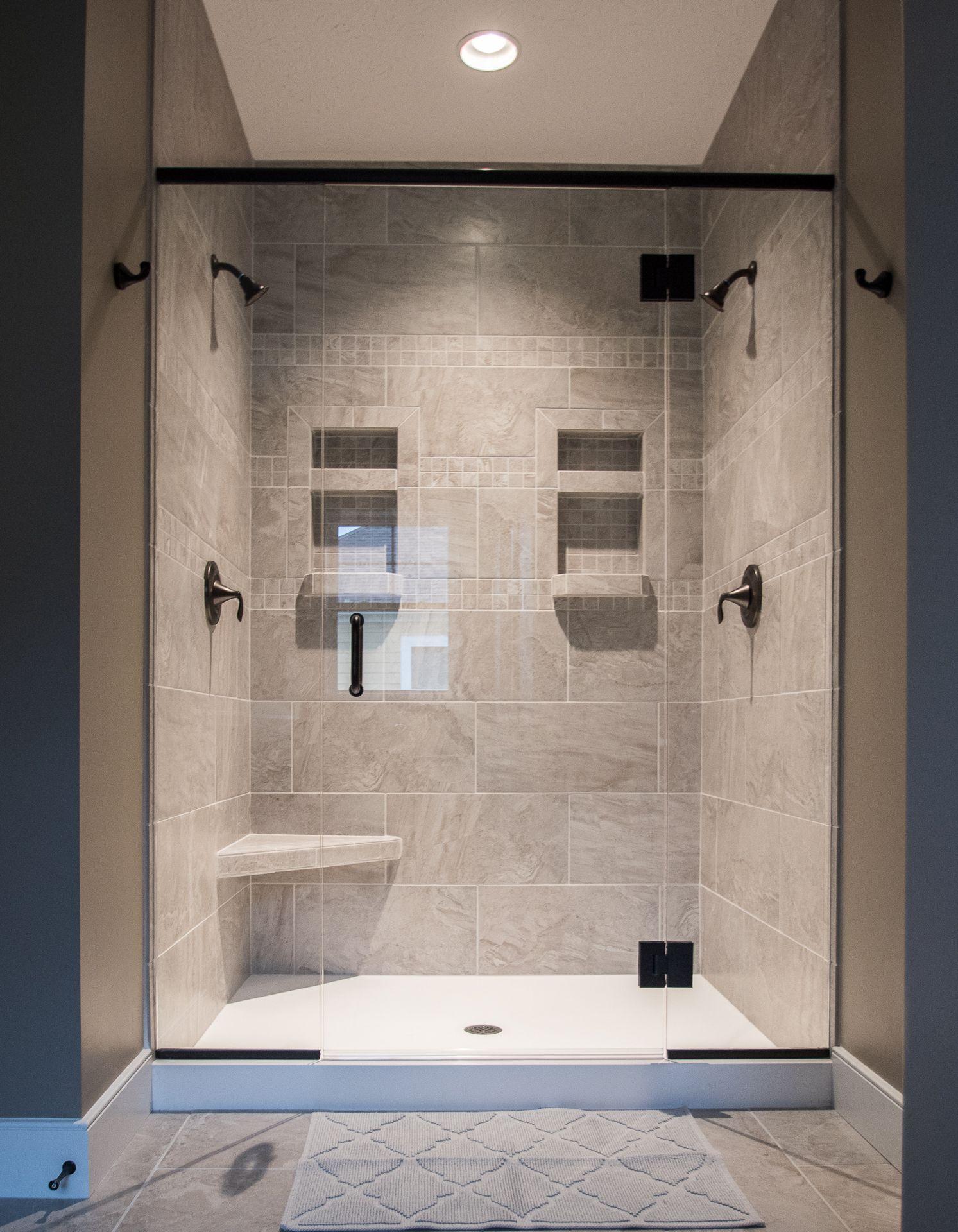 Bathrooms Harlow Builders Inc Shower Wall Tile Shower Tile Patterns Bathroom Shower Walls