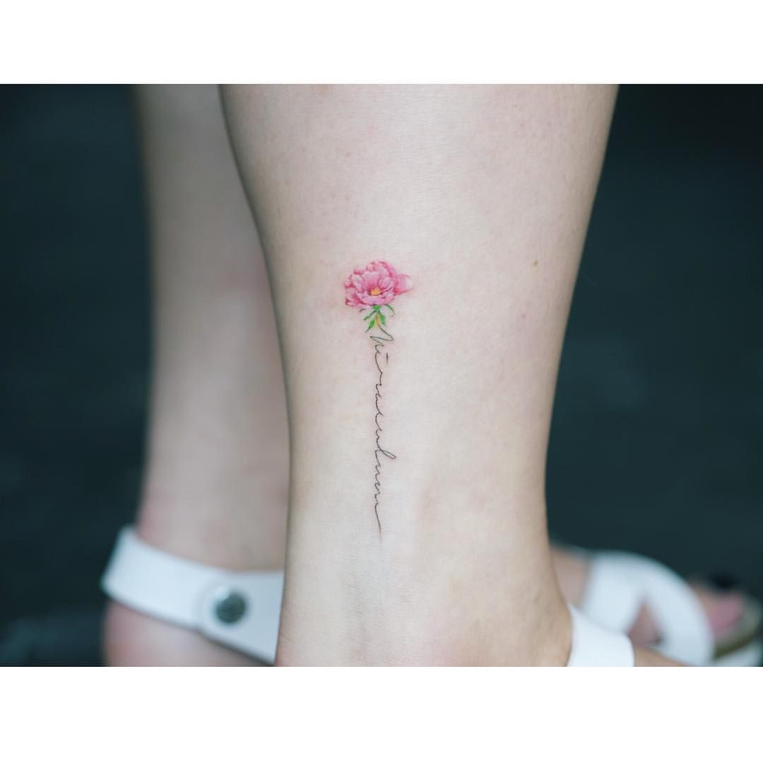 I want something like this with the word Love. On back of ...