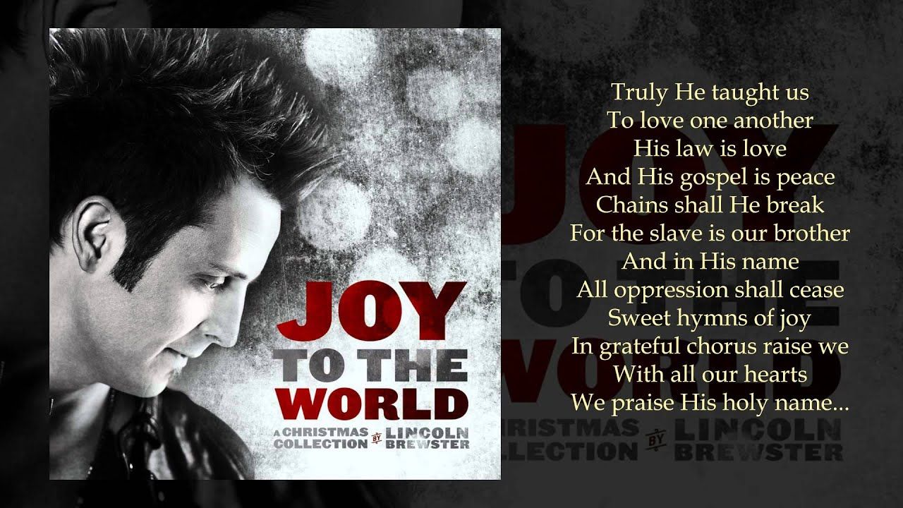 O Holy Night (Another Hallelujah) - Lincoln Brewster   Holiday songs, O holy night, Favorite ...