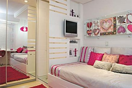 recámara juvenil mujer decoracion de cuartos Pinterest Bedrooms