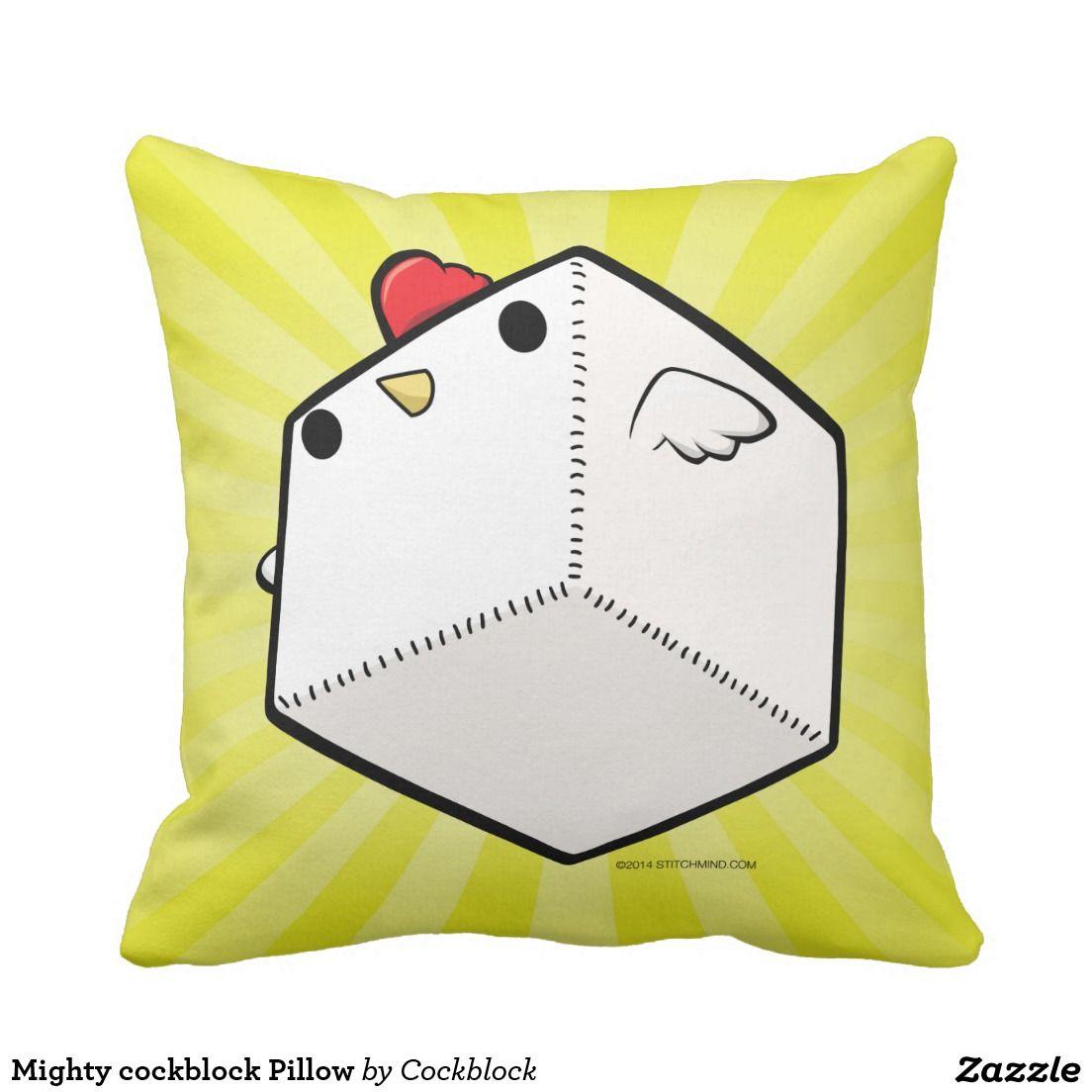 cock block pillow