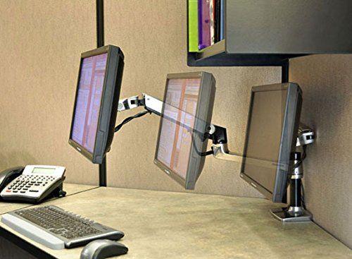 Amazon Com Lx Desk Mount Lcd Arm Computers Accessories Cubicle Decor Cube Decor Cubicle