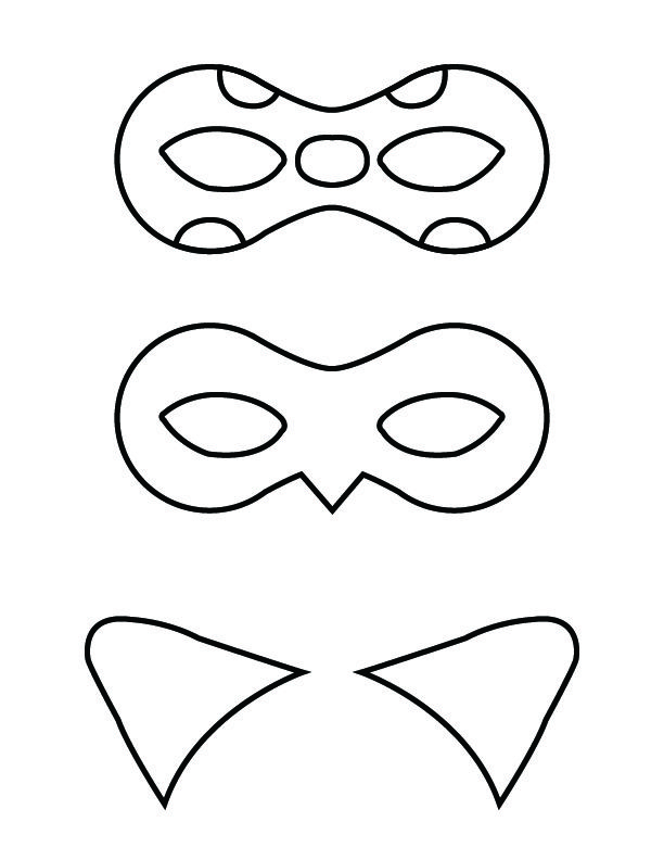 Ladybug And Cat Noir Masks Free Printable Miraculous Ladybug Party Ladybug Crafts Ladybug Birthday Party