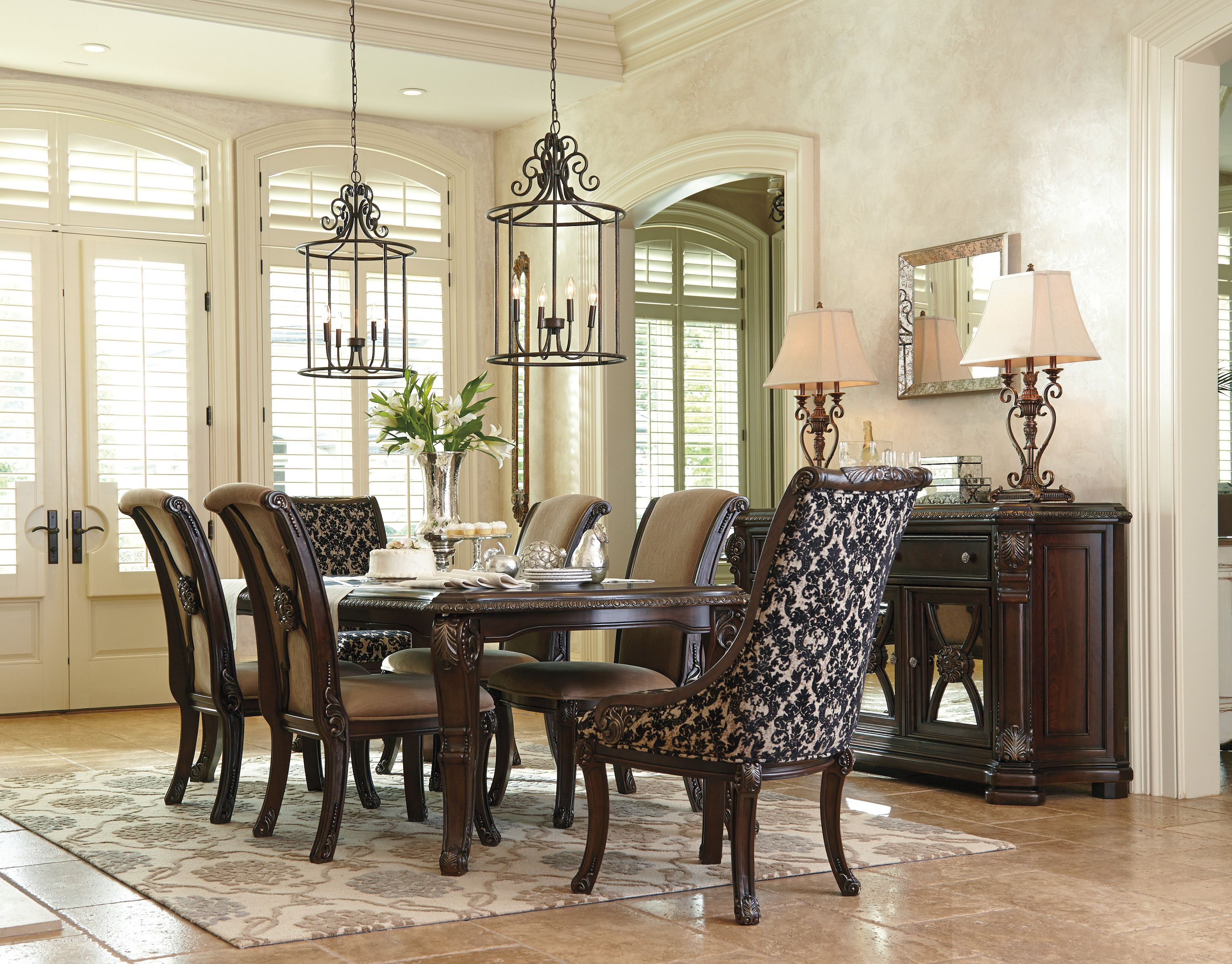 Excellent Valraven 7 Piece Dining Room Grand Elegance Dining Room Gamerscity Chair Design For Home Gamerscityorg