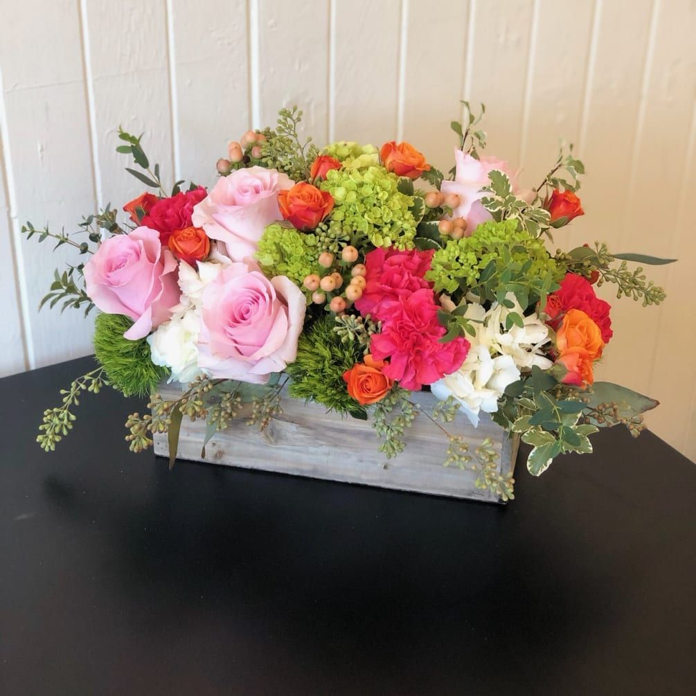 Rustic Beauty by Flowers by Coley in 2020 Rose floral