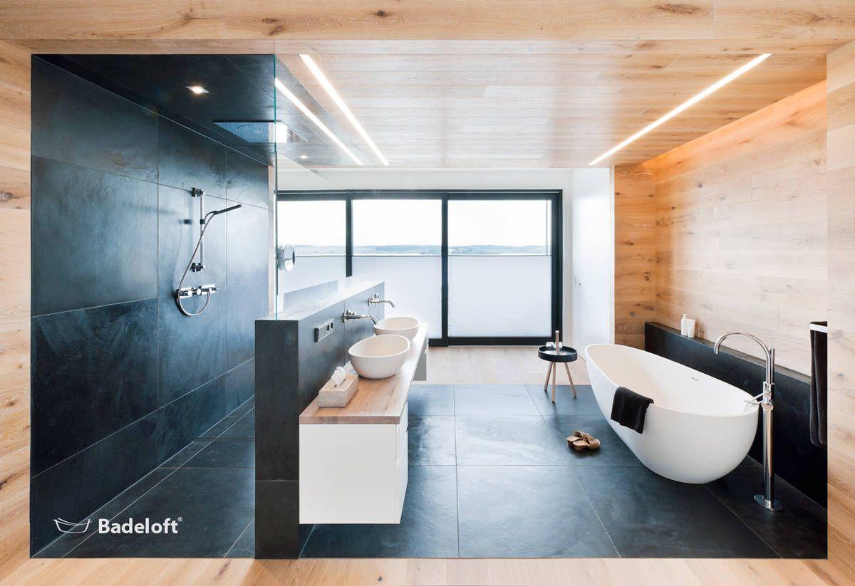 freistehende badewanne verleiht dem badezimmer raffinierten look, Badezimmer ideen