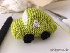Amigurumi Auto Kostenlose Anleitung Handarbeit Pinterest