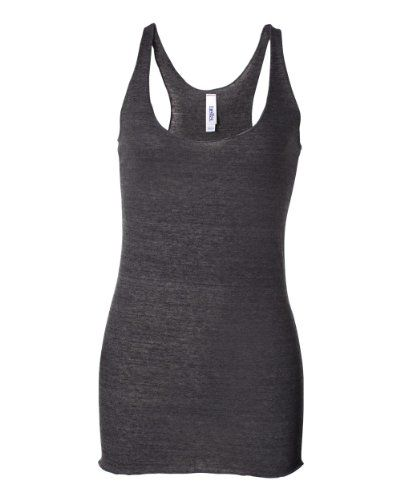 Bella Ladies Sylvia TriBlend Racerback Tank Top 8430 Medium Charcoal Heather * Check this awesome product by going to the link at the image.