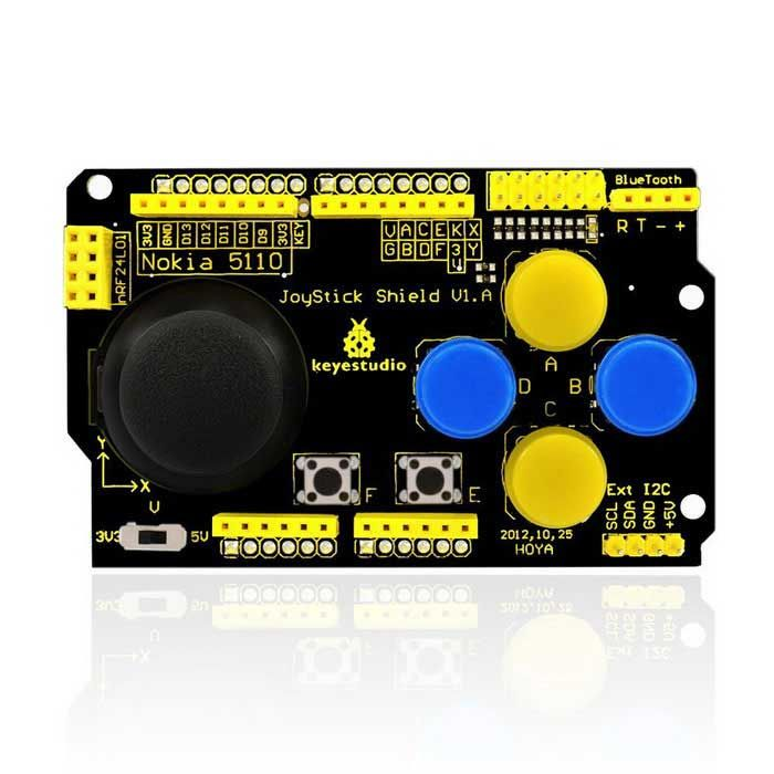 JoyStick Shield for Arduino Uno r3 / Mega 2560 / Raspberry Pi / AVR / STM32. Find the cool gadgets at a incredi